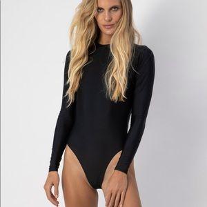 Wowza Abysse Billie bathing suit in Black NWOT